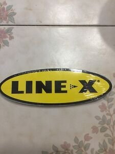 Line X Bed Liner Coatings Sticker