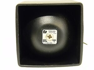 Federal Signal Compact Bp100 Series C P a Speaker New