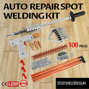 Repair Panels Spot Welding Kit Stud Welder Gun Puller Weld Station Den