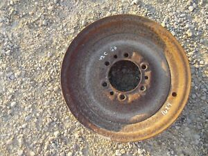 John Deere A G Tractor 4 X 16 Front Press Steel Solid Dish Rim Use With Tire