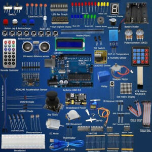Adeept Ultimate Starter Learning Kit Set For Arduino R3 Lcd1602 Servo Processing