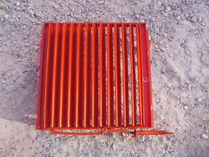 Allis Chalmers C Tractor Ac Front Nose Cone Grill Working Radiator Shutters kk