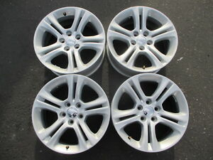 Four 2015 2018 Dodge Charger Factory 17 Wheels Oem Rims 5pn31trmaa 2542