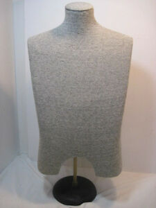 Old Adjustable Height Mannequin Dress Form Retail Display Solid Nice