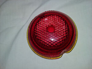 1933 1934 Buick Olds Tail Light Lens Nos Oldsray Buray Telray 918898 B456