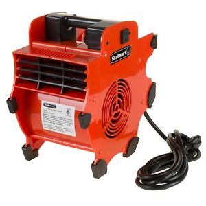 Industrial Compact Heavy Duty Fan Blower Portable Air Mover Floor Fan 3 Speed