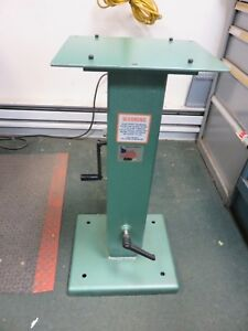 Burr King Stand Pedestal Bk 746 Adjustable Grinder sander