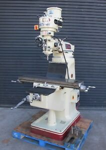 Acer Ultima 2s Vertical Mill Milling Machine 9x42 Bridgeport Style 2hp Very Nice
