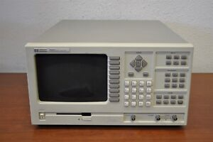Hp 35660a Spectrum Dynamic Signal Analyzer 2 channel 102 4khz W Option 001