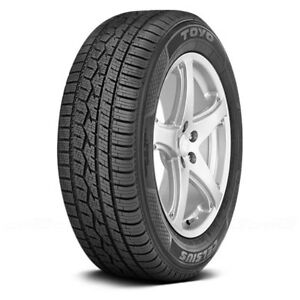 Toyo Set Of 4 Tires 235 45r17 V Celsius All Season Performance