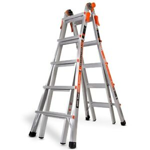 Little Giant 12022 Revolutionxe 300 pound Duty Rating Multi use Ladder 22 foot