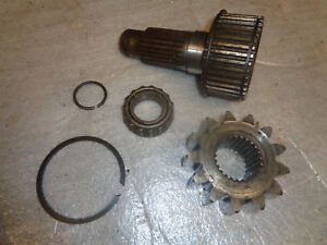 John Deere 1010 Crawler Dozer Final Drive Shaft Pinion Gear