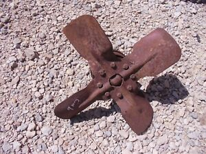 Farmall Cub Tractor Good Working Ih Ihc Engine Motor Fan Blade Belt Pulley
