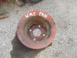 Case Vac Tractor Engine Motor Main Water Pump Fan Drive Pulley
