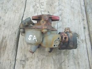 Farmall Super A Sa Tractor Original Ih Good Working Zenith Carburetor Assembly