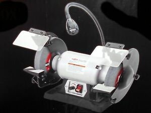New Shop Fox W1840 Variable Speed 8 Bench Grinder