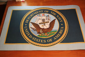 Us Navy Desk Mat pad Department Of The Navy 26 x17 5