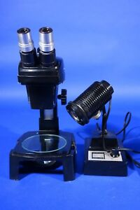 Bausch Lomb Stereo Dissection Microscope With External Light Source