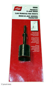 Pneumatic U joint Driver Air Hammer Driving Tool Rwd Universal Joints