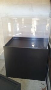 Wooden Display Pedestal With Plexiglass Cover custom 4 All Slightly Diff