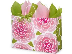 1 Unit Rose Blossoms Paper Bags Mini pk 16x6x12 Unit Pack 25