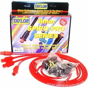 Taylor Cable New Set Of 4 Spark Plug Wires