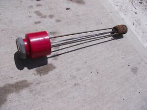 Farmall H Sh 300 350 400 Tractor Original Ih Short Gas Gauge In Cap Hard To Find