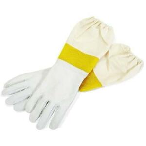 Brand New No glvmd Little Giant Goatskin Vented Sleeves Gloves