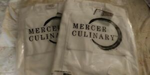 2 X Mercer Culinary M62030whxs Renaissance Men s Traditional Jacket X small