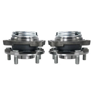 2 Front Wheel Hub And Bearings For Nissan 2004 07 Murano 2005 09 Quest