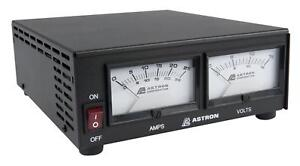Astron Ss 25m 25 Amp Switching Power Supply With Meters 20 Amp Continuous