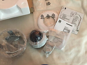 New Pelco Is50 chv10f Color Cctv Camera Camclosure 2 Outdoor Dome Flush Mount