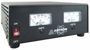 Astron Rs 50m 50 Amp Regulated Dc Power Supply With Meters