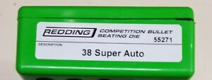 Redding Competition Bullet Seating Die 38 Super