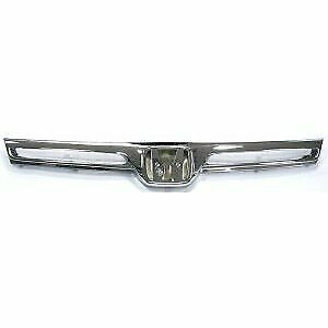 Ipcw New Billet Grille Chrome Coupe For Honda Civic 2006 2008