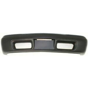Front Bumper Cover For 98 2001 Gmc Sonoma W Fog Lamp Holes Jimmy Primed