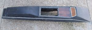 Oem 1969 Chevrolet Impala Ss 427 Automatic Center Console Black