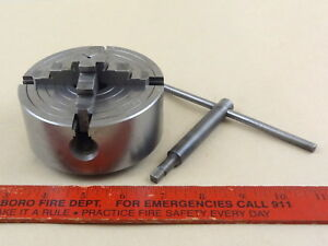 Excellent 9 21590 Craftsman 4 Reversing 4 Jaw Chuck Atlas 6 618 Lathe 10 Tpi