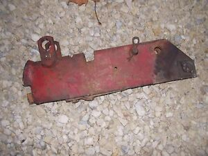 Farmall 450 560 Rc Tractor Ih Fast Hitch Fasthitch Implement Prong Pocket Holde