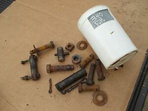 Farmall 340 Rc Tractor Ih Fasthitch Fast Hitch 2pt Pin Bolts Nuts Parts
