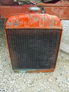 Allis Chalmers B Tractor Working Engine Motor Radiator Assembly