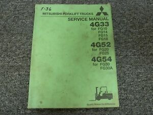 Mitsubishi Forklift Engine In Stock | JM Builder Supply and ... on