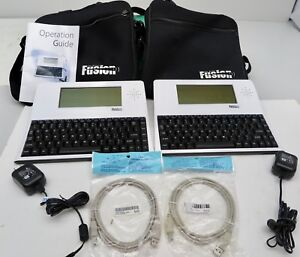 Fusion The Writer Portable Word Processor keyboard writing writers special Needs