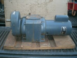 Graham Variable Speed Transmission With 3 4 Hp Motor Gear Box Speed Reducer