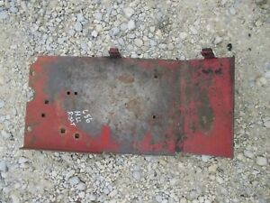 Farmall Ihc 656 Rc High Utility Tractor Original Ih Right Step Foot Panel