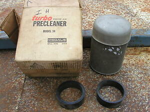 Farmall Ihc Tractor Precleaner Topper Turbo Tractor New Old Stock Medalie Mdl 34