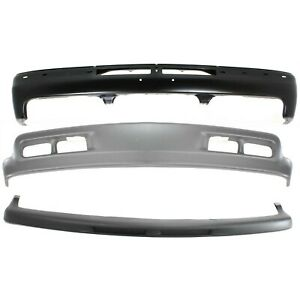New Kit Bumper Face Bar Front For Chevy Suburban Gm1002375 Gm1051103 Gm1092167
