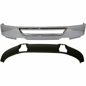New Kit Bumper Face Bar Front Chrome F150 Truck Ford F 150 Fo1002400 Fo1093108