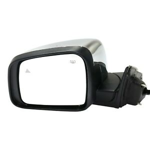 Power Mirror For 2014 2018 Jeep Grand Cherokee Left Side Power Fold Heated