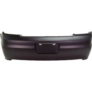 Rear Bumper Cover For 2001 2002 Honda Accord Coupe Primed